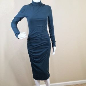 James Perse Turtleneck Midi Dress (G14)